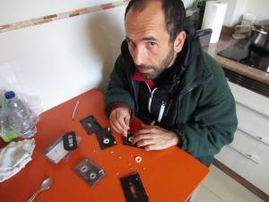 Operando cintas